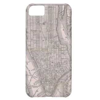 Vintage Map of New York City (1886) iPhone 5C Case