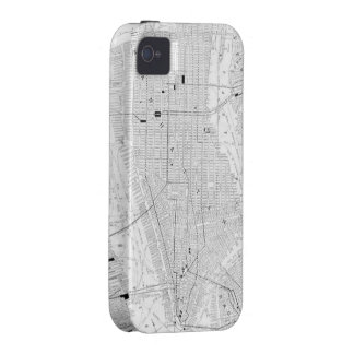 Vintage Map of New York City (1911) iPhone 4 Case