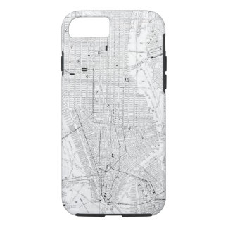 Vintage Map of New York City (1911) iPhone 8/7 Case