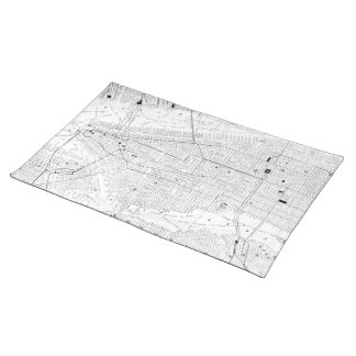 Vintage Map of New York City (1911) Placemat