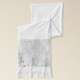 Vintage Map of New York City (1911) Scarf