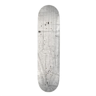 Vintage Map of New York City (1911) Skateboard Deck
