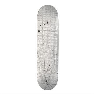 Vintage Map of New York City (1911) Skateboard Deck