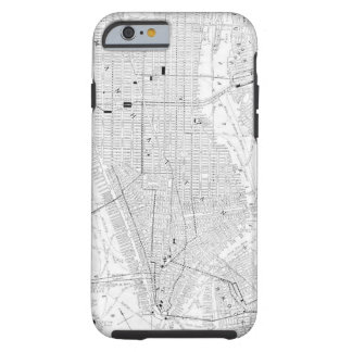 Vintage Map of New York City (1911) Tough iPhone 6 Case