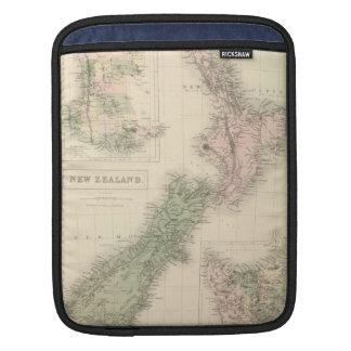 Vintage Map of New Zealand (1854) iPad Sleeve