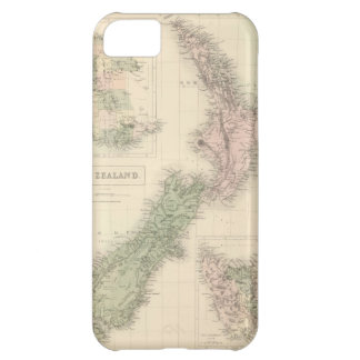 Vintage Map of New Zealand (1854) iPhone 5C Cover