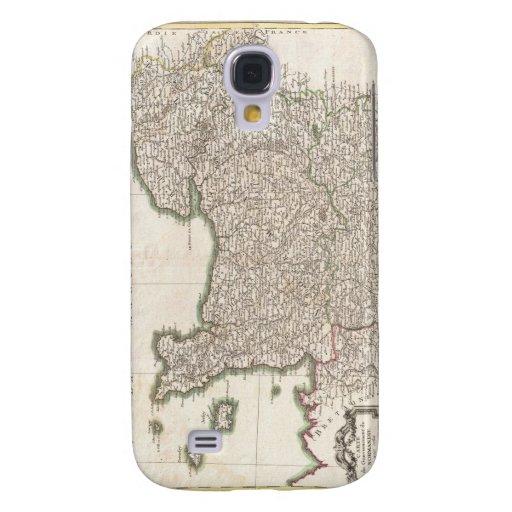 Vintage Map of Normandy (1771) Samsung Galaxy S4 Case