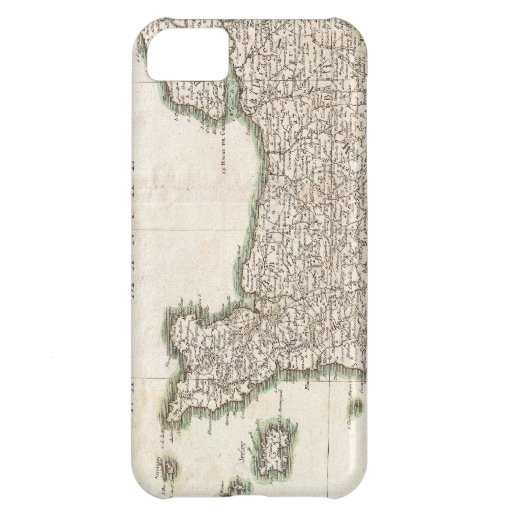 Vintage Map of Normandy (1771) iPhone 5C Cases