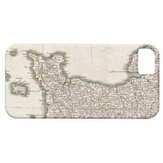 Vintage Map of Normandy (1771) iPhone SE/5/5s Case