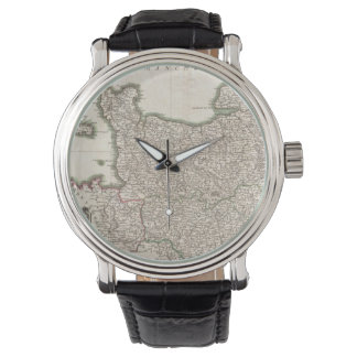 Vintage Map of Normandy (1771) Watch