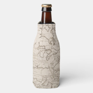 Vintage Map of North America (1719) Bottle Cooler