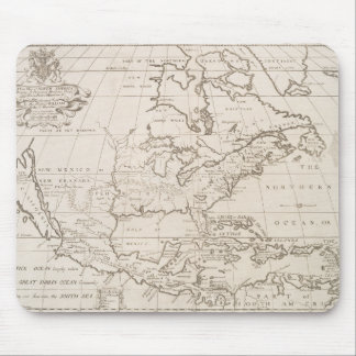 Vintage Map of North America (1719) Mouse Pad