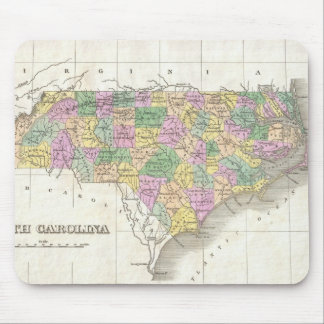 Vintage Map of North Carolina (1827) Mouse Pad