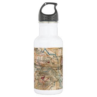 Vintage Map of Northeastern Virginia (1862) Stainless Steel Water Bottle