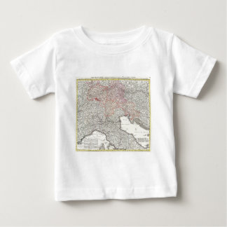 Vintage Map of Northern Italy (1720) Baby T-Shirt