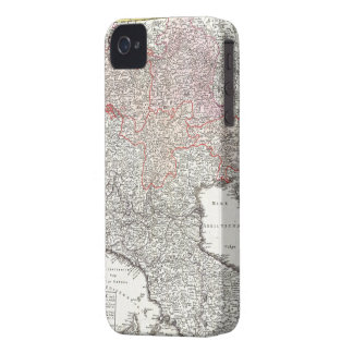 Vintage Map of Northern Italy (1720) iPhone 4 Cover