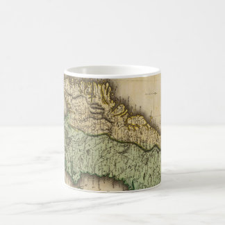 Vintage Map of Norway and Sweden (1831) Coffee Mug