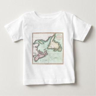 Vintage Map of Nova Scotia and Newfoundland (1807) T Shirt