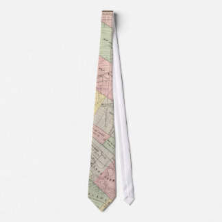 Vintage Map of Oakland California (1878) Neck Tie