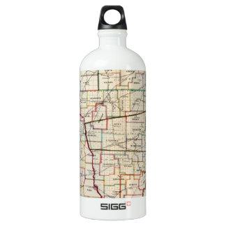 Vintage Map of Ohio (1866) SIGG Traveler 1.0L Water Bottle