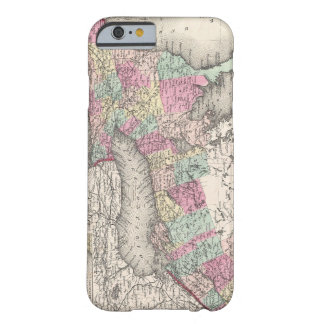 Vintage Map of Ontario (1857) Barely There iPhone 6 Case