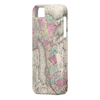 Vintage Map of Ontario (1857) iPhone 5 Cover