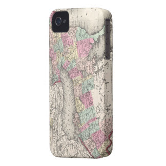 Vintage Map of Ontario (1857) iPhone 4 Case-Mate Case