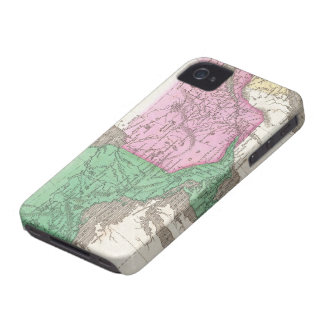 Vintage Map of Ontario and Quebec (1827) iPhone 4 Case-Mate Case