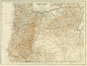 Vintage Oregon Map.Vintage Oregon Map Posters Photo Prints Zazzle
