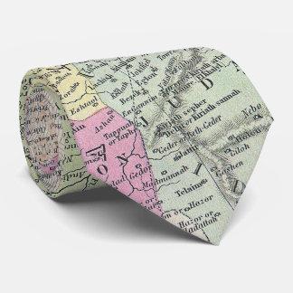 Vintage Map of Palestine (1853) Tie
