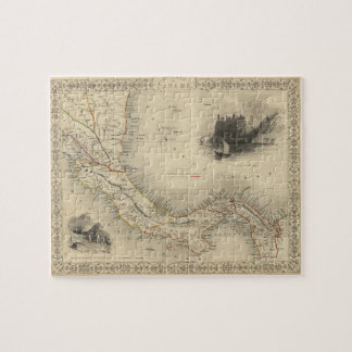 Vintage Map of Panama (1851) Jigsaw Puzzle