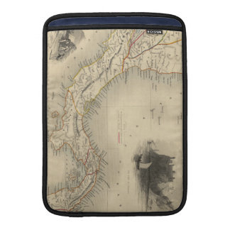 Vintage Map of Panama (1851) MacBook Air Sleeve