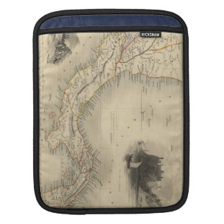 Vintage Map of Panama (1851) Sleeve For iPads