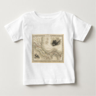 Vintage Map of Panama (1851) T Shirt