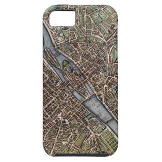 Vintage Map of Paris (1657) iPhone SE/5/5s Case