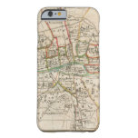 Vintage Map of Paris (1678) Barely There iPhone 6 Case