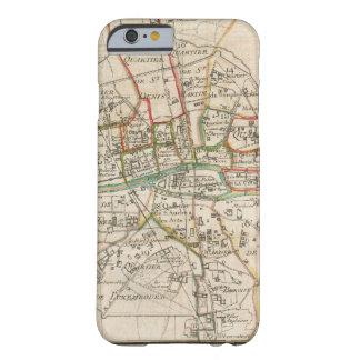 Vintage Map of Paris (1678) iPhone 6 Case