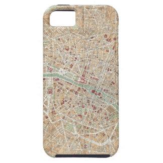 Vintage Map of Paris (1892) iPhone SE/5/5s Case