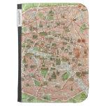 Vintage Map of Paris (1920) Case For The Kindle