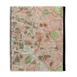 Vintage Map of Paris (1920) iPad Folio Case