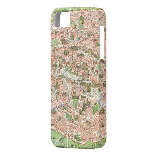Vintage Map of Paris (1920) iPhone SE/5/5s Case