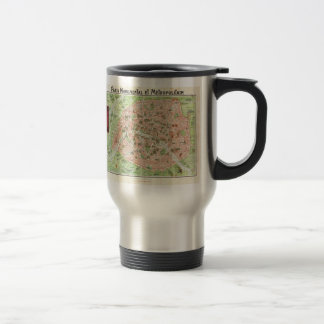 Vintage Map of Paris (1920) Coffee Mug
