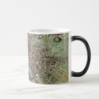 Vintage Map of Paris Magic Mug