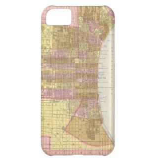 Vintage Map of Philadelphia (1846) iPhone 5C Case