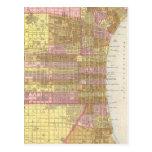 Vintage Map of Philadelphia (1846) Postcard