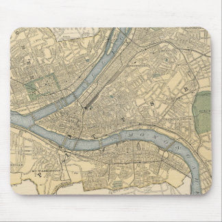 Vintage Map of Pittsburgh PA (1891) Mouse Pad