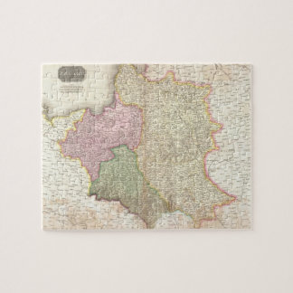 Vintage Map of Poland (1818) Jigsaw Puzzle