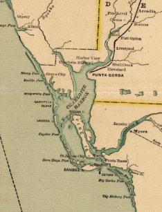 Port Charlotte Florida Map.Charlotte Map Art Wall Decor Zazzle