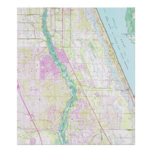 St Lucie Florida Map.Old Florida Map Gifts On Zazzle