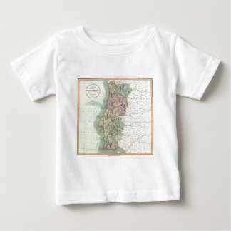 Vintage Map of Portugal (1801) Infant T-shirt